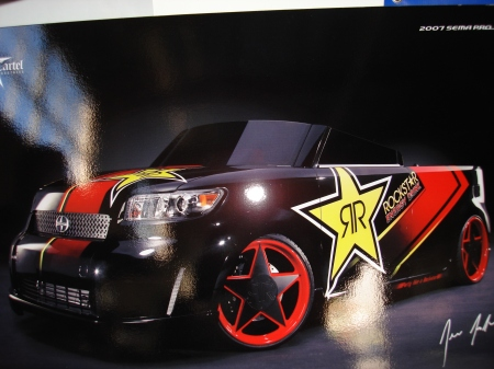 i3 also does hot whips. here's the rock star car they did for sema