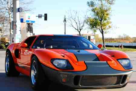 CHECK OUT THIS SIC FORD GT WE SEEN WHEN WE HIT THE GAS STATION