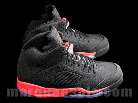 Air Jordan 5 Retro 3Lab5 'Black Infrared' Coming Soon